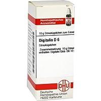 DIGITALIS D 6 10g Globuli PZN:4215134 preisvergleich bei billige-tabletten.eu
