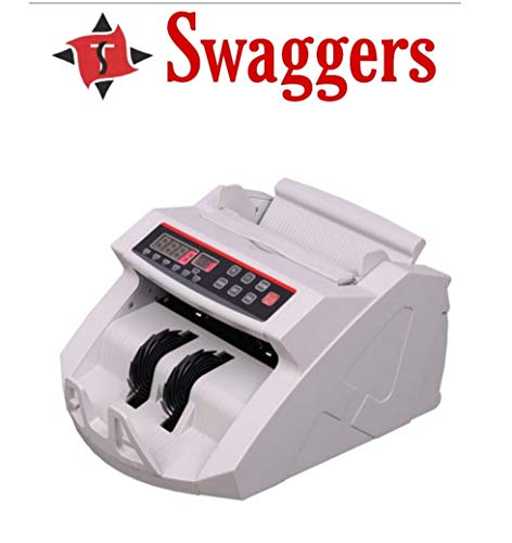 swaggers Gold Double mg Currency Counting Machine for New Currency 500 & 2000 with Software updation facelities