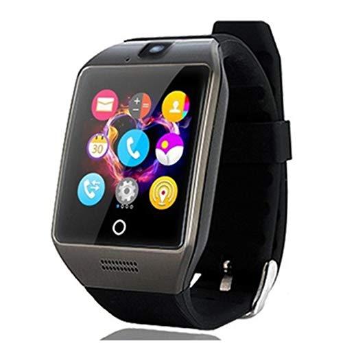 Q18S Bluetooth Smart Wrist Watch Remote Camera with TF SIM Card Slot Sleep Monitor Sedentary Reminder Recording Phone Watch