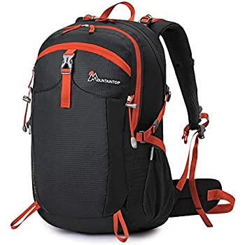 MOUNTAINTOP 40L Mochila Mochilas Senderismo Mochila Trekking Impermeable para Viaje Escalada Cámping Casual (Mujeres y