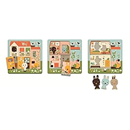 3 layers puzzle – Cottage dei conigli