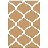 Stencil Deco Fondo 070 Celosia Arabe. Medidas aproximadas: Medida exterior del stencil: 20 x 30 cm Medida del diseño: 17 x 25,4 cm