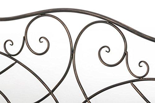 CLP Gartenbank FILIZ aus lackiertem Eisen