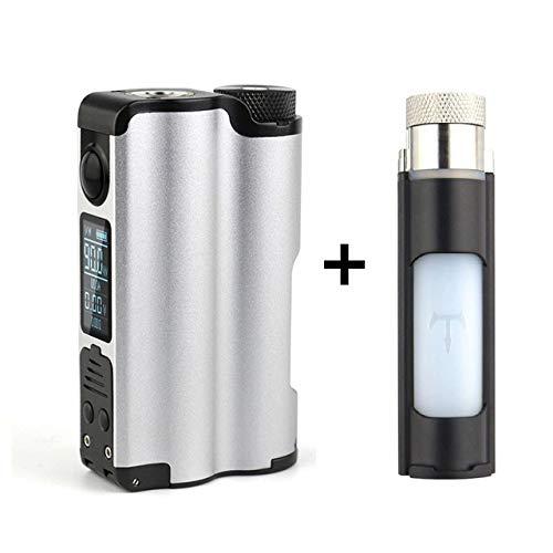 DOVPO Topside 90W Top Fill TC Squonk MOD con botella grande de Squonk y  pantalla OLED de 0 96 pulgadas