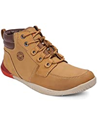 Red Chief Rust Casual Leather Shoes for Men (RC5043 022)