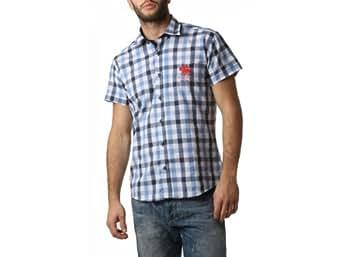 Frank Ferry - Chemise à manches courtes homme - L