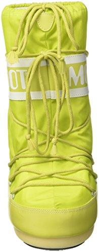 Moon Boot Nylon, Bottes de Neige mixte adulte Vert (Verde)