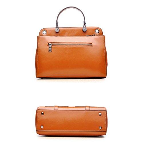 Frau Fashion Retro Portable Schulter Diagonal Paket 1