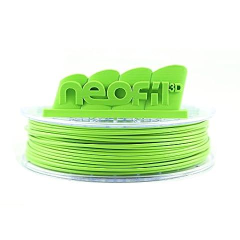 Neofil3D PLA175GR10750G PLA Filament pour Imprimante 3D, 1,75 mm, Vert Pomme