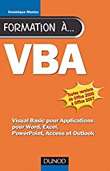Formation à VBA - 2e éd. : pour Word, Excel, Access (Hors collection)