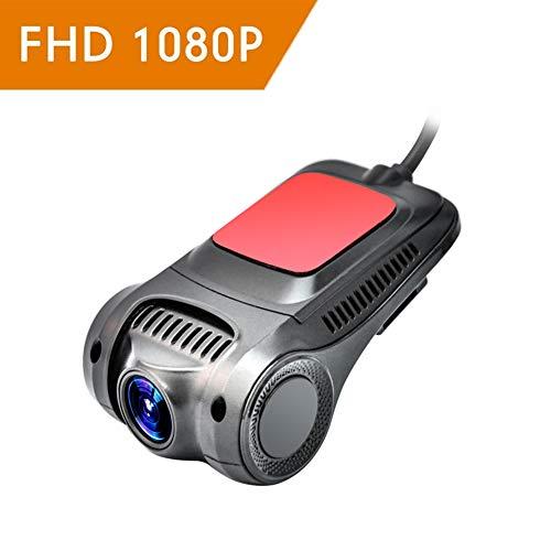 Dash CAM 1080P Auto Kamera Wdr6x Digital Zoom Mit Ultraklarem Starlight Night Vision Und Loop Recording Eingebautem Wifi-Modul Und USB-Auto-Aufladung