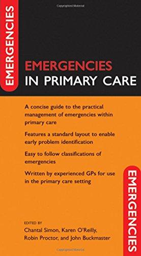 Emergencies in Primary Care PDF Books