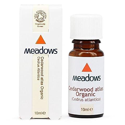 Organic Cedarwood - Atlas Essential Oil (Meadows Aroma) 10ml
