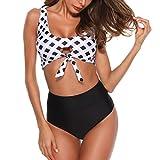 45d27323fe95 Mambain_bikini Donna Mare Push Up Brasiliano, Costume da Bagno Donna Due Pezzi  Vita Alta Sexy