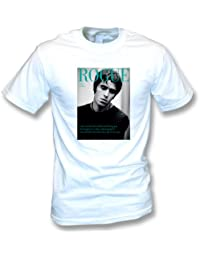 Liam Gallagher (Oasis/Beady Eye) Rogue Mens T-shirt In White