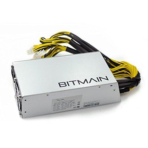 Bitcoin Miner PSU Treiber Antminer Energieversorgung APW3 ++ für S9 oder L3 + oder D3 w/10 Connectors (Antminer PSU)