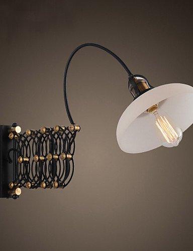 PW_ Camera da letto//Yuan Tian//corridoio lampada da parete//parete lampadina della luce comprese moderne/metallo contemporaneo , 110-120v-nero