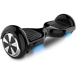 "Cool&Fun Hoverboard Patinete Eléctrico Scooter Monopatín Eléctrico Auto-equilibrio Patín 6.5"" de SHOP GYROGEEK (Negro)"