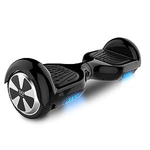 Cool&Fun Hoverboard 6,5 pouces Smart Scooter Skateboard Électrique Gyropode 2x350W de Boutique GyroGeek (Noir)