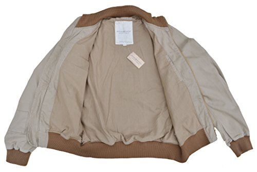 Ralph Lauren – Denim & Supply – Bomberjacke Jacke Military Bomber Jacket Sand Beige (M) - 4