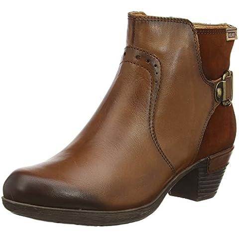 Pikolinos ROTTERDAM 902_I15 - botas de caño bajo de cuero mujer