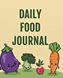 Daily Food Journal: A Food and Exercise Diary to Track Your Eating and Exercise for Weight Loss (90 Days Meal and Activity Tracker ) 7.5 X 9.25'