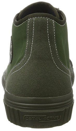 Verde Sneakers Uomo Alto cachi Ferroviari Attivo 02 Cammello In 13 0xBn7vtwq