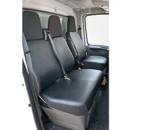 walser 11498 kunstleder sitzbez ge einzelsitz und doppelbank vorne citroen jumper fiat ducato. Black Bedroom Furniture Sets. Home Design Ideas