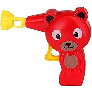 Pustefix - Animales Lanza pompas y Tubo de 70 ml, Juego de pompa de jabón (420869410)