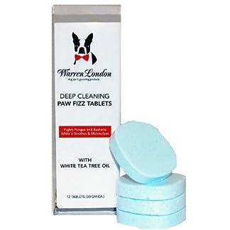 Warren London Deep Cleaning Paw Fizz Tablets, Pack of 12 8