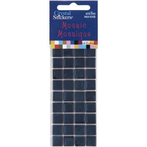 Navy Blue Crystal Stickers Mosaics 10mm 36/Pkg MOSC10-5520 (Sticker Crystal Mark)
