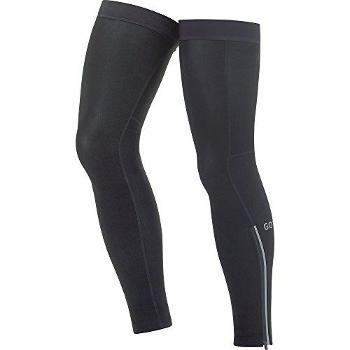 GORE Wear Atmungsaktive Unisex Beinwärmer, C3 Thermo Leg Warmers, Größe: XL-XXL, Farbe: Schwarz, 100396