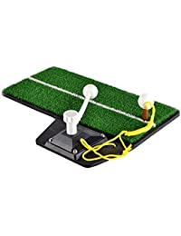 Entrenador De Golf Dispositivo De Práctica/Durable Interior Golf Swing Mat/Golf Swing Launch Pad Entrenador De Golf Mat