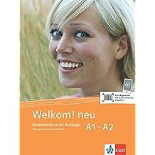 Welkom! Neu A1-A2: Niederländisch für Anfänger. Übungsbuch + Audio-CD