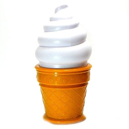 icht Eiscreme Lampe LED Lampe Nacht f¨¹r Kinder Kinder Kegel geformt Schreibtisch Tischlampe f¨¹r Schlafzimmer (Leuchten Neuheit Spielzeug)