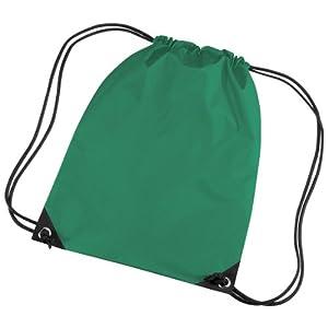 41wr83I2qZL. SS300  - BagBase - Mochila saco o de cuerdas Impermeable/resistente al agua Modelo Premium Deporte/Gimnasio (11 litros) - 34…