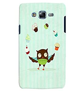 Citydreamz Owls/Cartoon/Abstract Hard Polycarbonate Designer Back Case Cover For Samsung Galaxy A8