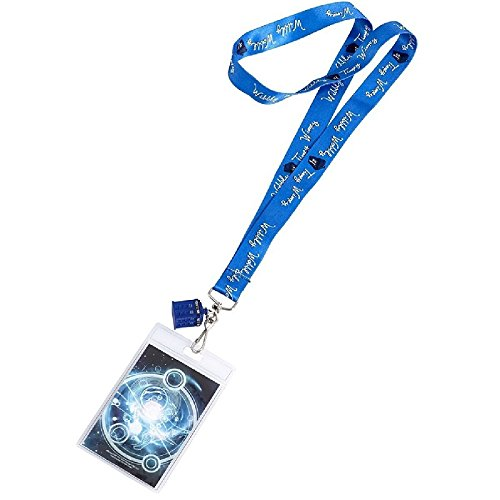 Doctor Who DW Wibbly Wobbly Timey Wimey with 3D Lanyards