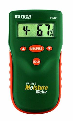 Extech Feuchtigkeitsmessgerät ohne Mess-Stift, 1 Stück, MO280 -
