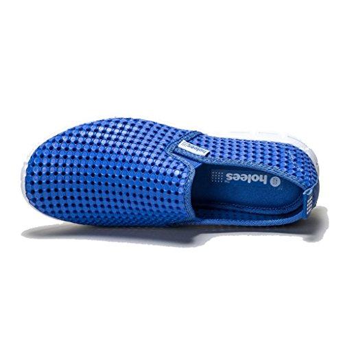 HOLEES originale in gommapiuma a memoria di forma, leggera, da donna, antiscivolo, per scarpe da uomo, in vari colori e misure disponibili Blu