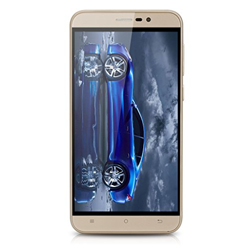 5.5'' CUBOT NOTE S IPS Schermo HD 3G Smartphone Android 6.0 MT6580 Quad Core 1.3GHz Cellulare 2GB RAM+16GB ROM Dual SIM HotKnot Telefono Cellulare WIFI Oro