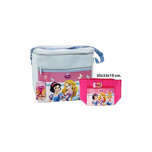 Disney – borsa frigo assortiti, – princess-, 30 x 33 x 19.