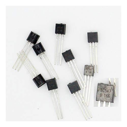 10x Transistor BC547–BC547B 414–NPN–to-92–38tran024