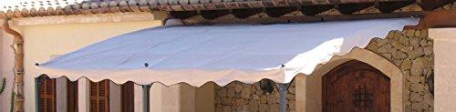 Ersatzdach Anbau Pergola Mallorca Sand
