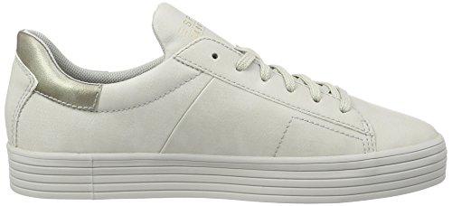 ESPRIT Damen Sita Lace up Sneakers, Grau (040 Light Grey), 36 EU