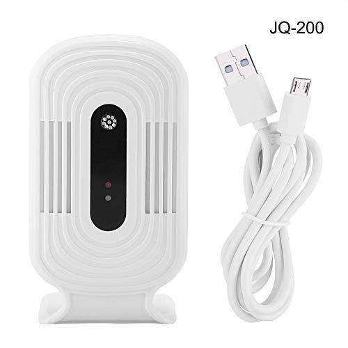 Co2-analyzer (Acogedor Luftdetektor ,PM2.5 Monitordetektor Kohlendioxid ,USB WiFi Luftqualitätsprüfgerät Intelligenter Monitordetektor,PM2.5 HCHO & TVOC & CO2 Analyzer(JQ-200))