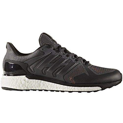 adidas Supernova St M, Scarpe da Corsa Uomo Nero (Grey Four /Core Black/Solar Orange)