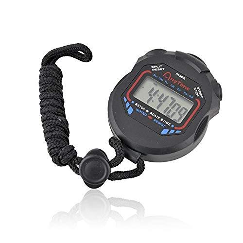 TekShopping CRONOMETRO Digitale Chronometer Corsa Sport Palestra Orologio RILEVA Tempo Tempi