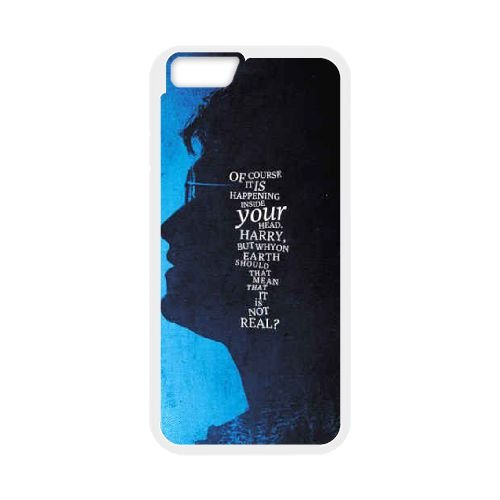 Deathly Hallows coque iPhone 6 4.7 Inch Housse Blanc téléphone portable couverture de cas coque EBDXJKNBO11199