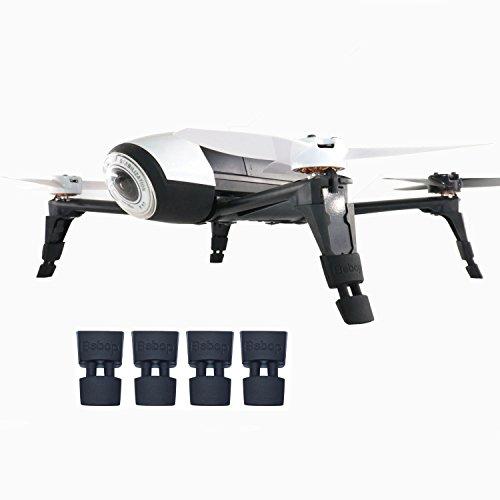 Kismaple Jambe étendue Landing Gear Extension des pieds pour Parrot Bebop 2, Bebop 2 FPV, Bebop 2 Power FPV, Bebop 2 Adventurer Drone Accessoires